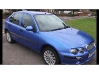 Rover 25 petrol low mileage 1.4 for quick sale 450 ono