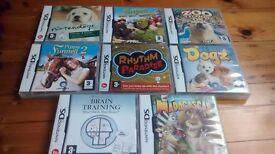 8 DS Nintendo Games