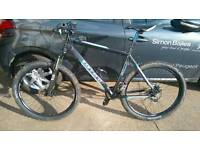 "Carrera vengence 27.5"" wheels mens mountain bike"