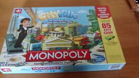 Monopoly CityVille board game