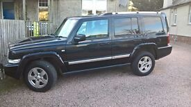 2006 JEEP COMMANDER 3.0 CRD. 7 SEATER 4x4 AUTOMATIC.