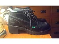 Ladies Kickers Boots size 8 worn once