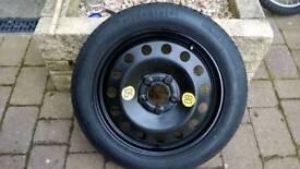 "BMW 17"" inch Space Saver Spare Wheel 3 5 7 Series M3 M5 M6 E46"