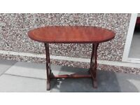 Nice small feature drop leaf table, poss del.
