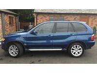 2002 52reg BMW X5 3.0i Blue Automatic Full Mot