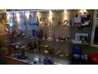 Antique and vintage dealers wanted - cabinets/space available to rent in small centre.