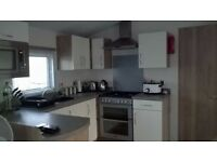 Prestigious 37×13 super luxurious 2 bedroom (sleeps 6) and absolutely stunning caravan for rent.