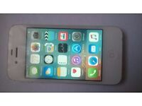 iphone 4s, 16gb, white, on EE, Orange & T mobile, very good cosmetic & working order