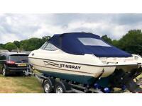 Stingray 200CS power boat speedboat cuddy cabin V6