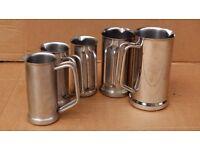 Stainless steel jug set