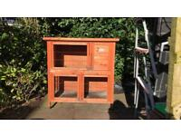 Rabbit hutch and new cover