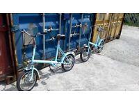 Classic retro bikes