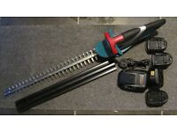 Garden Items:Battery Hedge Trimmer, Grass & Shrub Electric Shears, Wolf Garten Attachments & More