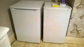 undercounter fridge and freezer £80