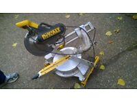 dewalt dw 708 chop saw