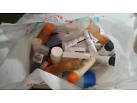 FREE! Bag of unwanted, unused toiletries etc