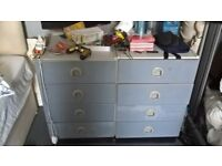 2 commercial chest of draws