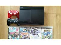 PS3 Console + Controllers + Games