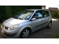 Renault Scenic MPV automatic . Bargain low mileage family car!