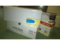 Set of 4 Boxed New Unused Compatible Laserjet Toner Cartridges