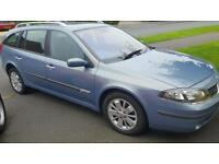 2007 Renault laguna 1.9 dci. One owner from new. Only 87.000 miles mot until March