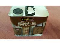 2.5 litres Rusting Danish Oil