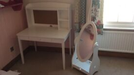 Child Desk and Mirror (Great Little Trading Company)