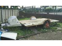 Caravan base to build trailer