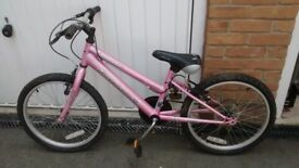 Girls 6 gear bike