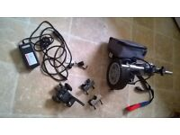 Wheelchair Powerpack Powerstroll brand. Instructions included.
