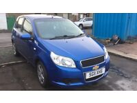 2011 CHEVROLET AVEO LS**1.2L** MOT AUG 2018**3 MONTHS WARRANTY