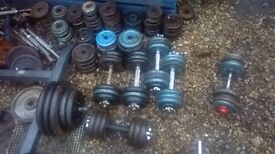 cast iron weights over 400 kg ,barbell dumbbell