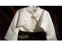 ivory bridal jacket