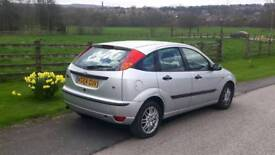 Ford focus Automatic 1.6 5dr hatchback low mileage 66000 bargain price