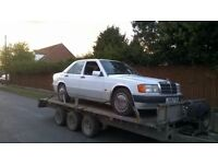 £500 Wanted Mercedes 190D W201 190 2.0 2.5 diesel 200D 250D W124 200 2