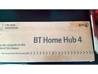 BT Home Hub 4, Brand New.