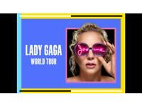 4 x Lady GaGa Joanne World Tour Tickets
