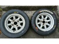 "Rally Motorsport tarmac tyres 13"" mk2 escort/sunbeam"