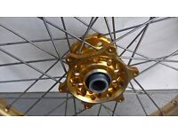 """KTM 21"""" front wheel for EXC/ SX, SXF from 2003 to 2016 - Talon hub - Excel rim"""