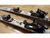Salomon Junior Childs Skis - Length 118cm