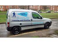 Peugeot partner valeting van ready to work