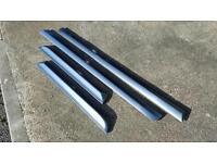 Audi A4 B6 & B7 S Line Doors Blades / Trims