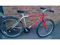 "men's carrera valcan bike 26"" wheels"