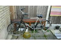 Vintage tourer bike