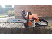 """STIHL 017 / MS170 14"""" PETROL CHAINSAW, POWERFUL, PROFESSIONAL, READY FOR WORK, NEW PARTS, MUST SEE"""