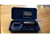 Boxed M&W 0-25mm Micrometer