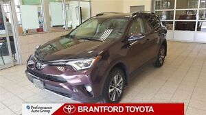 2017 Toyota RAV4 XLE-AWD-SUNROOF-POWER TAILGATE-ALLOYS