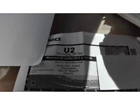 U2 Ticket The Joshua Free Tour 7/26/17 Paris FIRST ROW Bloc G5 Rank 19 Place 14