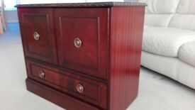 Mahogany Cabinet with Drawer - FREE