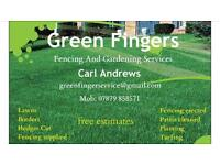 Gardeners/fencers needed